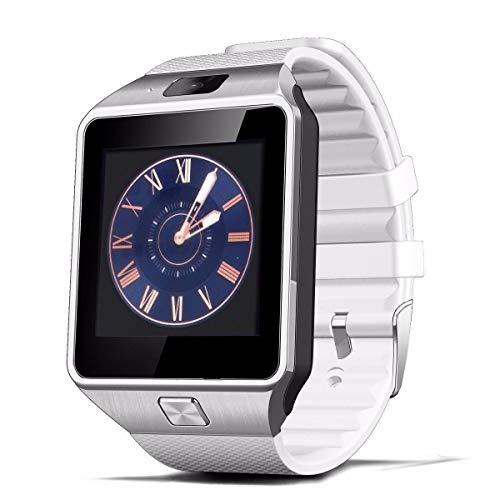 Smartwatch Bluetooth, orologio da polso con slot per scheda SIM, GSM Sport Watch Activity Tracker con fotocamera, pedometro, Smart Salute da polso per il monitoraggio
