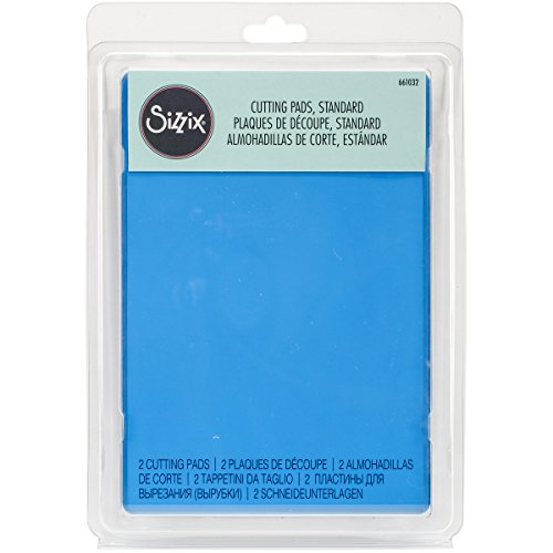 Sizzix, Blueberry, Standard Cutting Pads 661032, 1 Pair, One Size