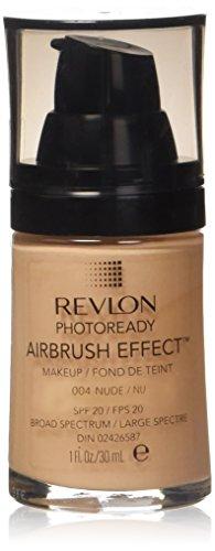 REVLON - PhotoReady Airbrush Effect Makeup #004 Nude - 1 fl. oz. (30 ml)
