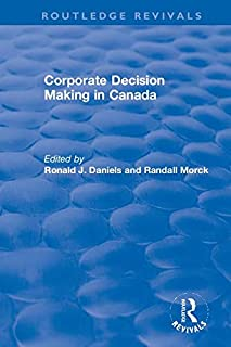 Corporate Decision Making in Canada