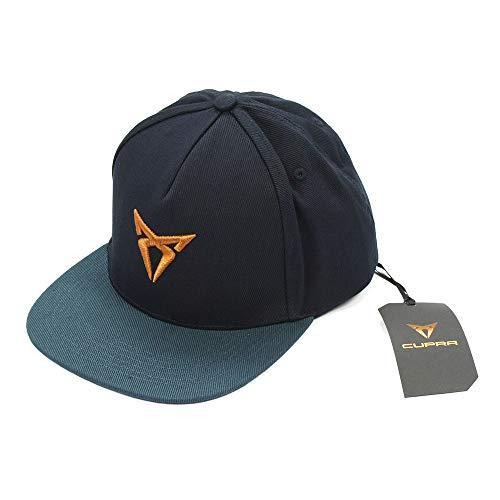 SEAT 6H1084300IBJ Snapback Cap Basecap Kappe, dunkelblau