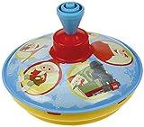 Bolz 52551 - Brummkreisel Sandmännchen 13 cm, Blech Schwungkreisel, klassischer Pumpkreisel, Blechkreisel mit Sandmann Motiv, Kreisel mit Standspitze, Spielzeugkreisel für Kinder ab 18m+