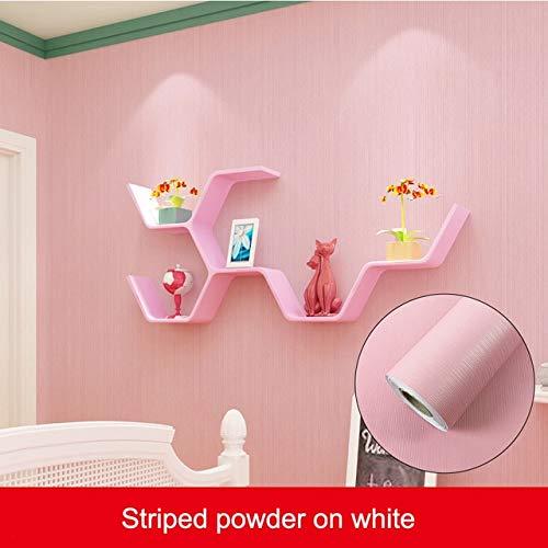Eenvoudige kleur DIY Decoratieve Film PVC zelfklevende Wallpaper 3m Meubeldecoratie Stickers Keukenkast Waterdicht Behang 60 X 300CM