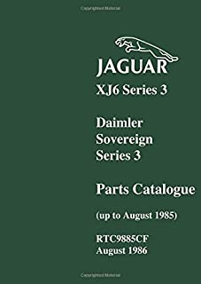 jaguar xj6 series 3 parts catalogue