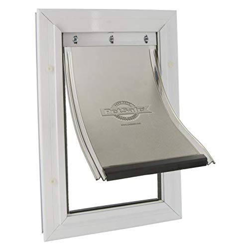 PetSafe Staywell puerta marco aluminio–blanco–para