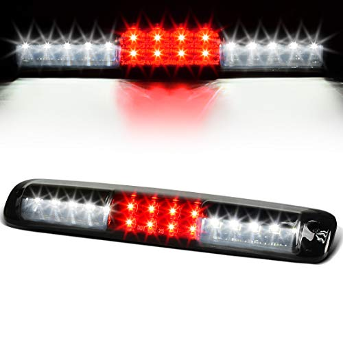 LED 3rd Brake Light Compatible with Chevy Chevrolet Silverado GMC Sierra 1500 2500 3500 1999-2006 & 2007 HD with Classic Body Style High Mount Trailer Third Cargo Lamp Smoke DWBL1016