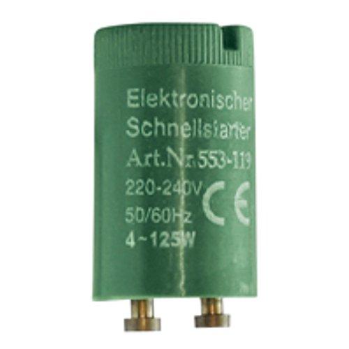 Schnellstarter für Leuchtstofflampen 4-125 Watt 5 Stück
