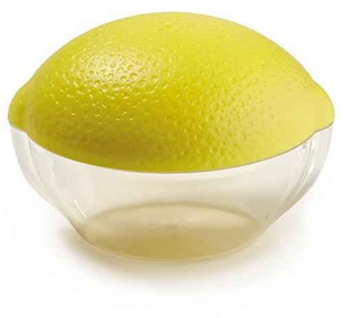 Snips Salva Cipolla Boîte en plastique pour citron (Jaune/transparent)