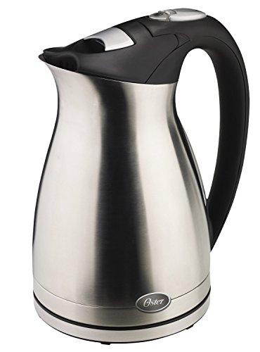 【並行輸入】Oster 5965 1-1/2-Liter Electric Water Kettle, Stainless Steel 電気ケトル