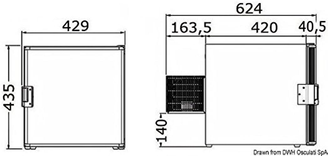 Réfrigerateur Isotherm 40 Cubic 12 24 V