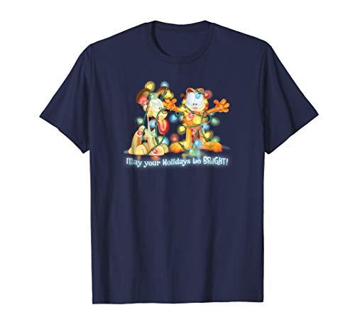 Garfield Bright Holidays T Shirt