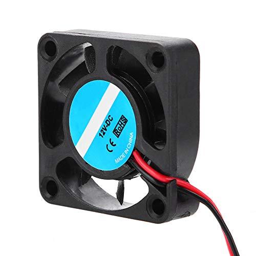 Ventilador de refrigeración de impresora 3D, ventilador de disipador de calor de impresora 3D súper silencioso de 12 V y 4 piezas, ventilador de radiador de impresora potente de 7000 RPM 6,7CFM
