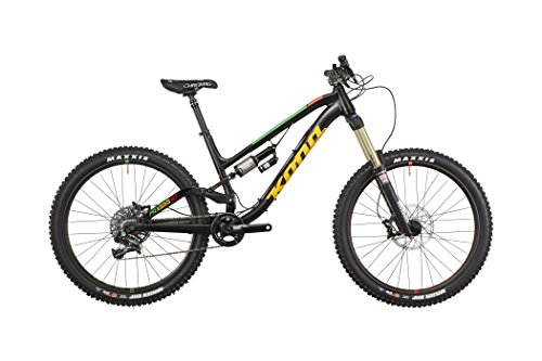 Kona Process 167 matt black/gloss green/yellow/red Rahmengröße 43,2 cm 2016 MTB Fully