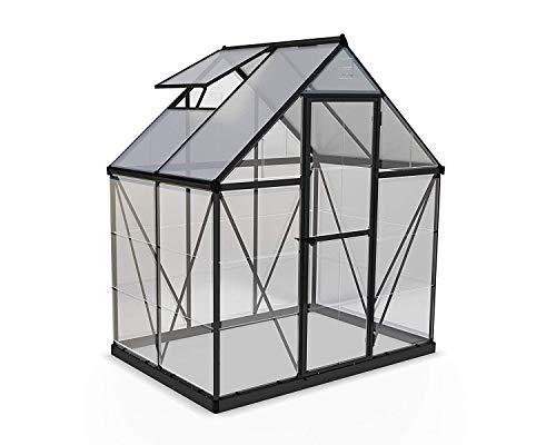 Palram Aluminium Gewächshaus Gartenhaus Hybrid - Treibhaus & Tomatenhaus zur Aufzucht