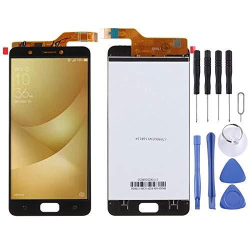 De Galen Accessory Kits - Accesorios para teléfono celular con pantalla LCD y digitalizador para Asus ZenFone 4 Max / ZC520KL (color: blanco)