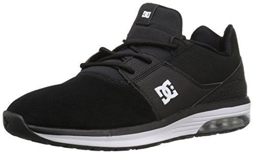 DC Unisex-Adult Heathrow ia Skateboarding Shoe, Black, 10 D US