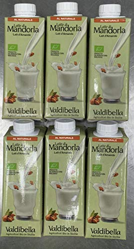 Valdibella Latte Di Mandorla 8% Senza Zucchero - 250 ml