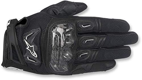 Guantes para Moto SMX-2 Air Carbon v2; Talla L, Color Negro