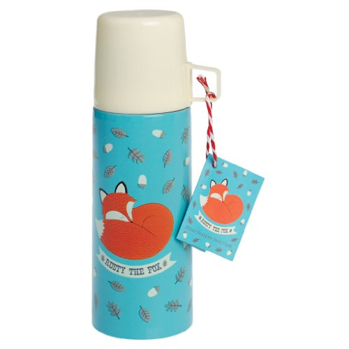 Edelstahl-Isolierflasche, 350ml, verschiedene Designs Rusty the Fox