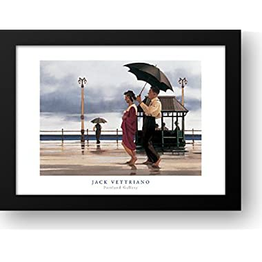 The Shape of Things to Come 32x24 Framed Art Print by Vettriano, Jack