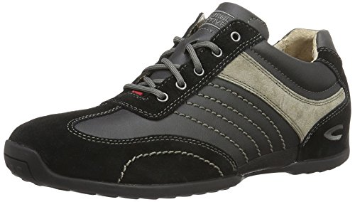 camel active Herren Space 12 Low-Top, Schwarz (Black/Grey 32), 41 EU