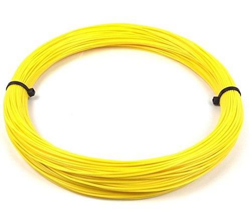 Grossiste3D, filamenti 3D, in PLA, rotolo da 10metri, 1,75mm di spessore, per penna o stampante 3D, colore giallo