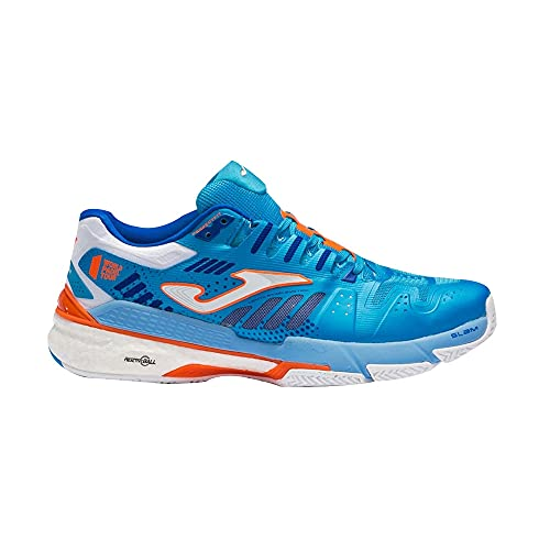 Joma Slam, Zapatos de Tenis Hombre, Turquesa, 43.5 EU