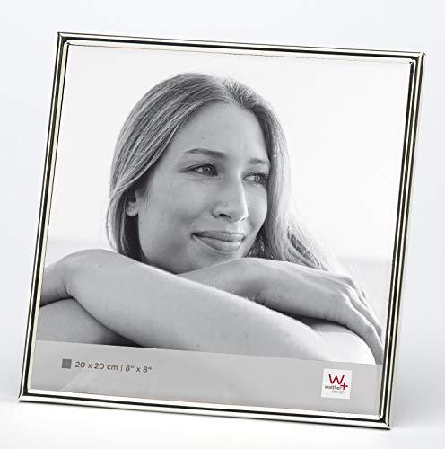 Walther design WD220S Chloe Portraitrahmen 20x20 cm, silber