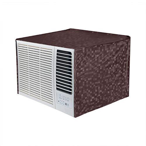 Dakshya Industries 100% Waterproof and Dust Proof Window AC Cover for 1.5 Ton Window AC - Brown