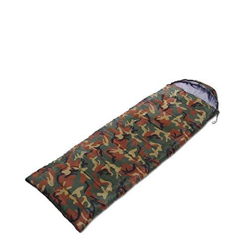 Xin.S Sacs De Couchage Portables Avec Sacs Compressés Sacs De Couchage Légers Imperméables Enveloppés Camping Voyages Ou Activités De Plein Air,Green-(190+30)*75cm
