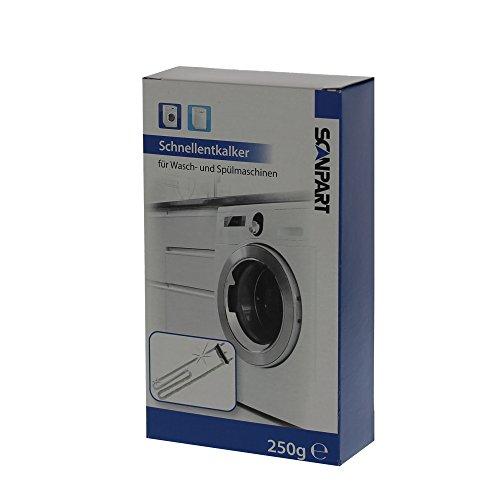 Scanpart Schnell-Entkalker R020 für Wasch- und Geschirrspülmaschinen