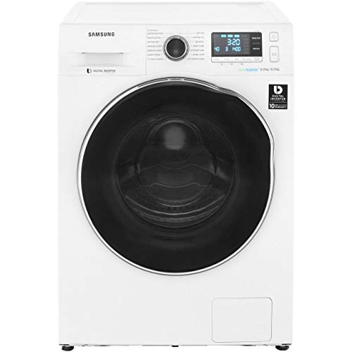 Samsung WD90J6A10AW Samsung WD90J6A10AW Washer Dryer with Ecobubble, 9KG
