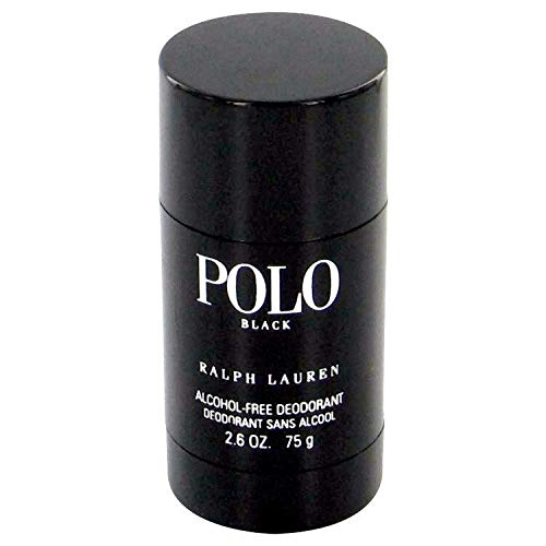 Ralph Lauren Polo Black Deodorant Stick for Men, 2.6 oz, Single