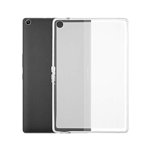 Custodia trasparente per tablet Asus Zenpad S Z580C Tab Custodia morbida in TPU trasparente Cover posteriore ultra sottile antigraffio di TAOYUNXI (Asus Zenpad S Z580C)