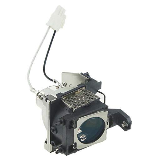 E-LukLife Bombilla de repuesto para proyector Benq MP720p MP770 W100 5J.J1S01.001, con...