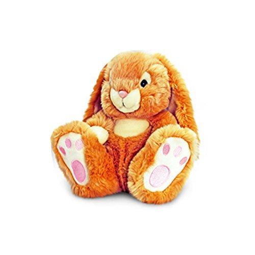 Keel Toys Patchfoot Plüsch Hase (25cm) (Braun)
