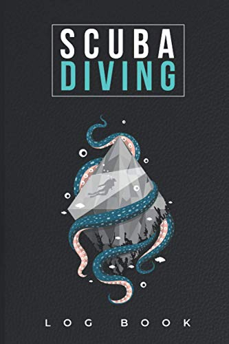 Scuba Diving Log Book: Padi Dive Book for Your Daily Scuba Dive With Average, Max Depth, Safety Stop, Weather Conditions and Many More!