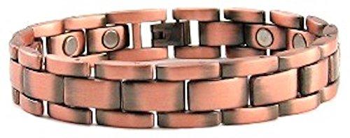 PROEXL Mens Magnetic Copper Power Energy Bracelet 8.5