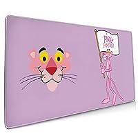 スクエア マウスパッド ピンクパンサー 大型 40*90cm ゲーミング マウスパッド 厚く滑りにくい マウスパッド
