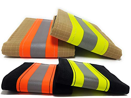 Feuerwehr-Geldbörse, original, reflektierend, für Herren, Geschenk, RFID-Schutz, Orange (Orange) - 4345756358