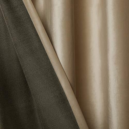 Bolo Cortinas decorativas impermeables de calidad de hotel en baño y bañera, 137 x 275 cm