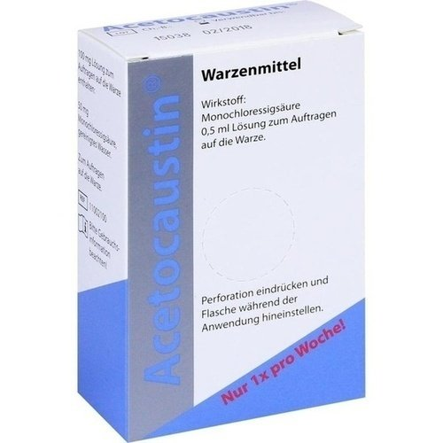Acetocaustin Lösung, 0,5 ml