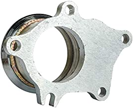 Stainless Steel Adapter for T3/T4 Turbo 5 Bolt to 3