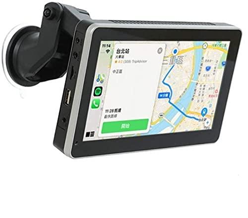 CORAL CarPlayワイヤレスバージョンのナビゲーション、通信、エンターテインメント車両システムの互換性:「AppleCarPlay」、「Android Auto」、「AndroidMirrorlink」をスマートフォンにリンクできますサウンド出力:車に接続Bluetoothオーディオ(利用可能な場合)、FMリンク、AUX入力 特別ボーナス長さ10mの反転カメラレンズグループ