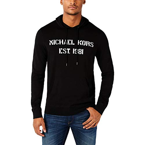 Michael Kors - Sudadera con capucha para hombre -  Negro -  Medium