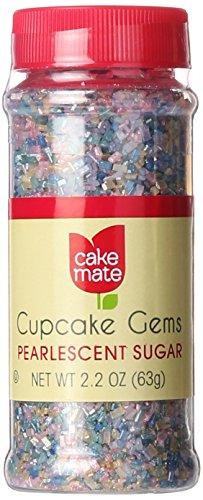 Cake Mate Sugar Crystal Pearlescent, 1.75 oz