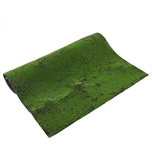 ASPZQ Mousse Artificielle Verte Fausse Pelouse Tapis Tapis Paille Pâques Faux Gazon Mousse de Jardin À La Maison Maison Étage Bricolage Décoration de Mariage Herbe (Color : D, Size : 1x2m)