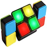 Newest Speed Cube,Multi Game Modes Magic Block,Puzzle Electronic Block Cube with Lights&Sounds,STEM Puzzle That Fits All Ages,Christmas Birthday Gift for Cubers Kids Adults