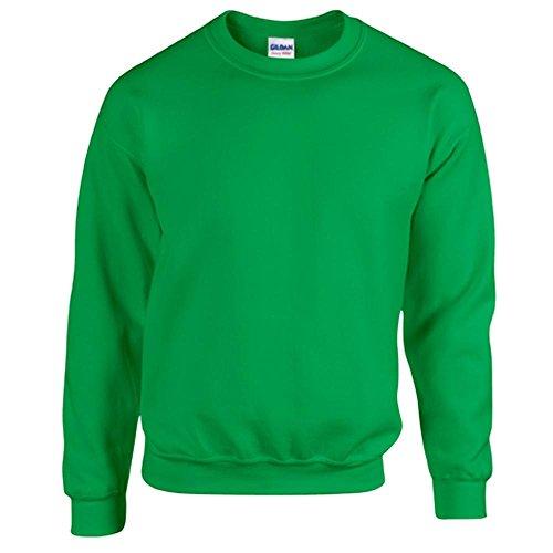 Gildan Heavy Blend Erwachsenen Crewneck Sweatshirt 18000 L, Irish Green