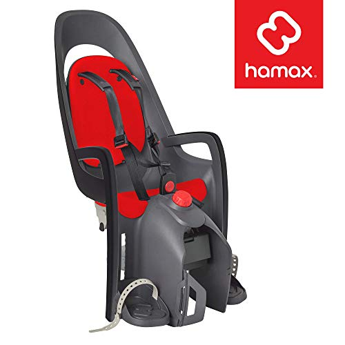 Cheapest Price! Hamax Caress Rear Child Bike Seat, Ultra-Shock Absorbing Rack Mount, Adjustable to F...